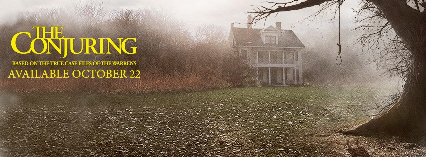 The Conjuring - dvd banner