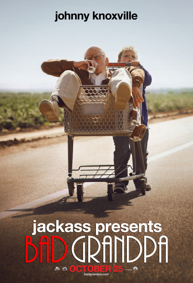 Filmed partly in North Carolina, 'Jackass Presents: Bad Grandpa' is nominated for the Best Makeup and Hairstyling Oscar at the 2014 Academy Awards.