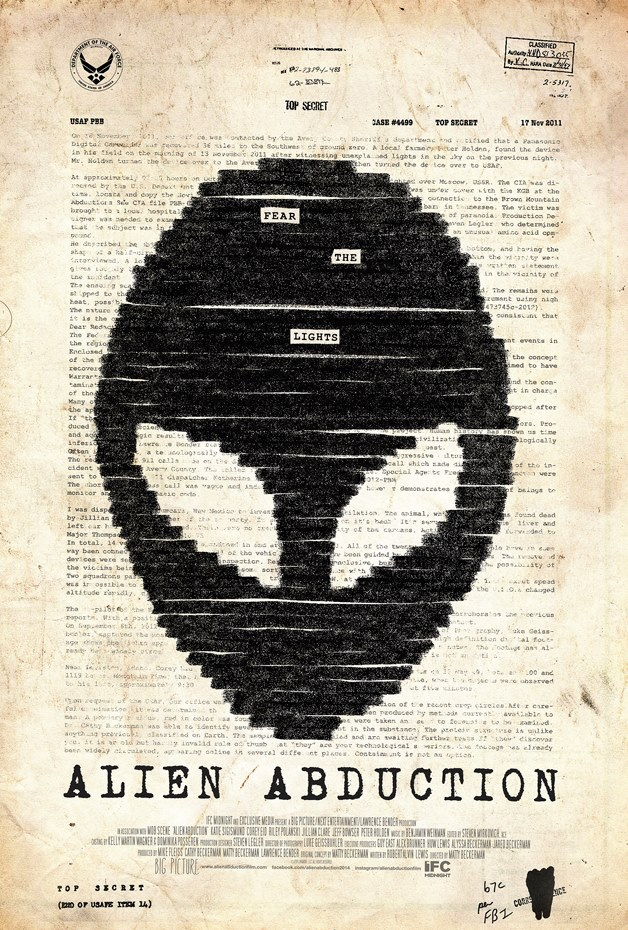 'Alien Abduction' Movie Poster