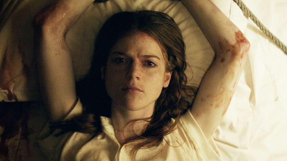 Rose Leslie stars in 'Honeymoon', filmed in Hendersonville, North Carolina.