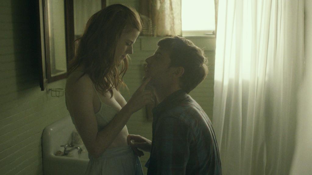 Rose Leslie and Henry Treadaway star in 'Honeymoon', filmed in Hendersonville, North Carolina.