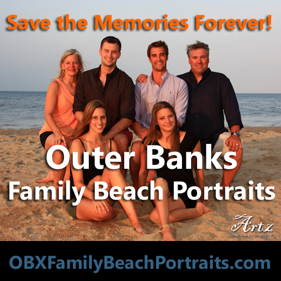 Click HERE to Book Your Outer Banks, North Carolina Family Beach Portraits!